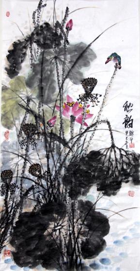 高雅自然·形神兼备—浅析著名画家魏斗的意境之美插图(1)