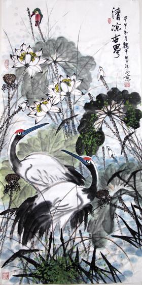 高雅自然·形神兼备—浅析著名画家魏斗的意境之美插图(4)