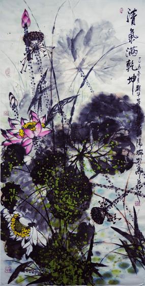 高雅自然·形神兼备—浅析著名画家魏斗的意境之美插图(6)