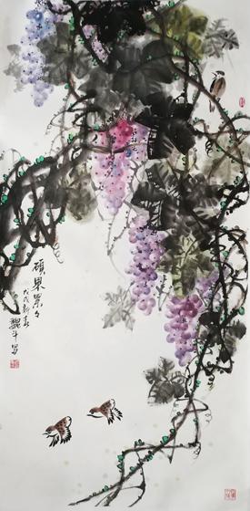 高雅自然·形神兼备—浅析著名画家魏斗的意境之美插图(7)