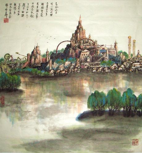高雅自然·形神兼备—浅析著名画家魏斗的意境之美插图(8)
