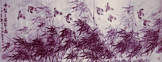 高雅自然·形神兼备—浅析著名画家魏斗的意境之美插图(10)