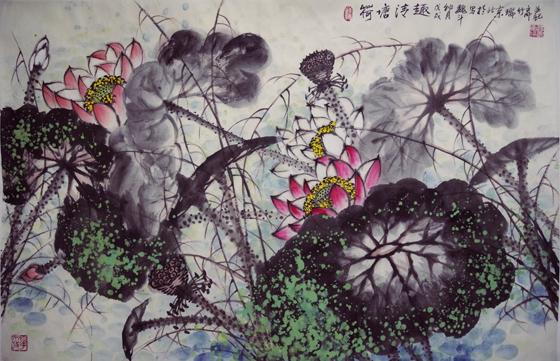 高雅自然·形神兼备—浅析著名画家魏斗的意境之美插图(12)
